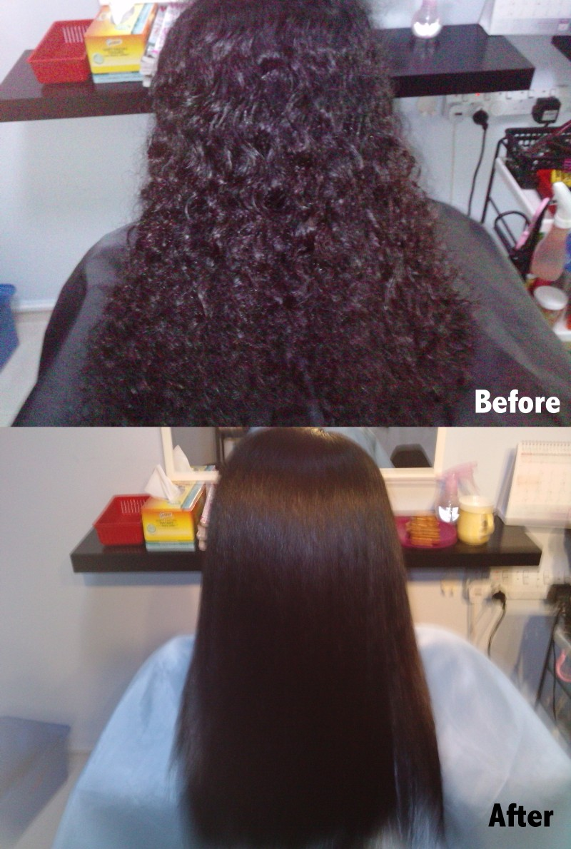Hair Rebonding And Hair Services Hair Straightening And